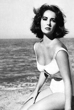 Elizabeth Taylor in a pivotal scene of Suddenly Last Summer (director: Joseph L. Manciewicz, 1959).