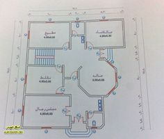 Narrow House Plans, 3d House Plans, Model House Plan, House Layout Plans, Basement House Plans, Family House Plans, Bedroom House Plans, House Layouts, Classic House Exterior