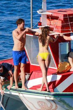 Dakota Johnson joins Jamie Dornan for Fifty Shades of Grey filming