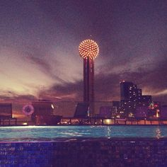 """.@cmvillegas83's photo: """"About to get my swim on...in November! #dallas @Omni Hotels & Resorts"""