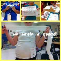 Blog entry with lots of Hundredth Day of School ideas