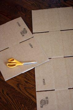 Cardboard rocket. Site has more box toy ideas