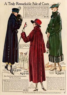 Ladies Coats - Winter 1919/20
