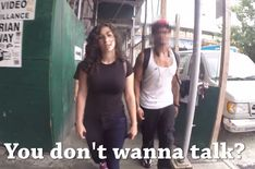 A walked new york silently for ten hours and recorded the instances of street harassment against her.