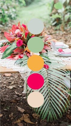 Hawaiʻi-inspired Color Palettes We Love Scheme Color, Colour Pallette, Color Palate, Colour Schemes, Color Combos, Color Style, Tropical Colors, Idee Diy, Colour Board