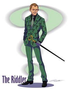 A little tribute to Frank Gorshin who was The Riddler in the Batman TV show. And totally the coolest Riddler ever. For those of you who watch the The Riddler- Frank Gorshin Batman 1966, Im Batman, Batman Robin, The Riddler, Bob The Builder Scarecrow, Man Character, Comic Character, Comic Book Heroes, Comic Books