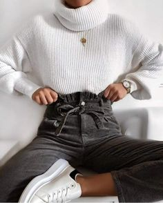 trendy outfits for summer ; trendy outfits for school ; trendy outfits for women ; Winter Fashion Outfits, Fall Winter Outfits, Autumn Fashion, Fashion Spring, Fashion Ideas, Christmas Fashion, Ootd Winter, Stylish Winter Outfits, Fashion Pics