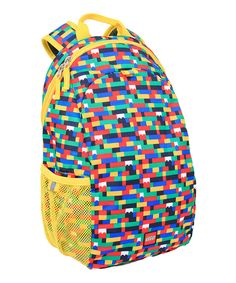 Look at this Yellow LEGO Backpack on #zulily today!
