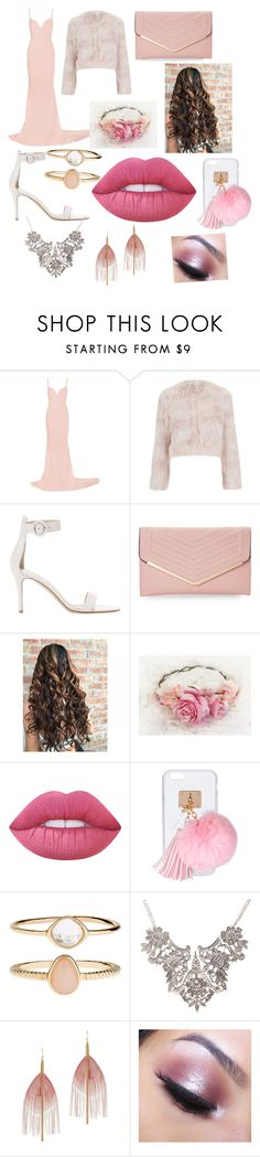 """""""fancy restraunt date"""" by fashionselena ❤ liked on Polyvore featuring STELLA McCARTNEY, RED Valentino, Gianvito Rossi, Sasha, Lime Crime, Ashlyn'd, Accessorize, Serefina and Too Faced Cosmetics"""