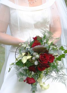 Nice Winter Wedding Bouquets Flowers