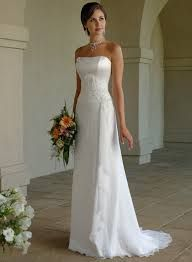 empire line wedding dress - Google Search