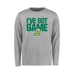 Norfolk State Spartans Youth Got Game Long Sleeve T-Shirt - Heather Gray - $21.99