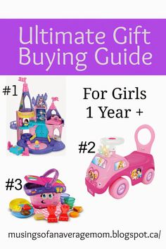 Gift Ideas For One Year Old Girls Baby 1st Birthday Gifts