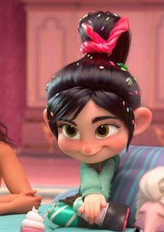 vanellope looks so like u when she blushes im gonna Cry Cartoon Wallpaper Iphone, Disney Phone Wallpaper, Cute Cartoon Wallpapers, Cartoon Profile Pictures, Cartoon Pics, Girl Cartoon, Disney Princess Pictures, Disney Pictures, Disney Icons