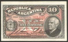 Argentina, Banknote, 10 Centavos 1895 , Pick 228 a, AUN/UNC !