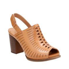 37ef7f34ff7f Briatta Key Light Tan Leather womens-heels Tan Leather Sandals