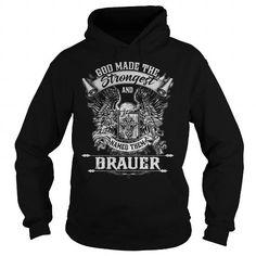 I Love BRAUER BRAUERYEAR BRAUERBIRTHDAY BRAUERHOODIE BRAUERNAME BRAUERHOODIES  TSHIRT FOR YOU Shirts & Tees