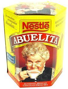 abuelita chocolate my favorite when I need something sweet & warm!