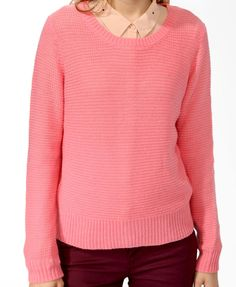 Relaxed Open Knit Sweater $6.99