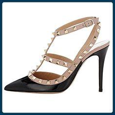 Fashion Stiefel Damen Schuhe Club Party Overknee Reissverschluss 5064 Schwarz 39