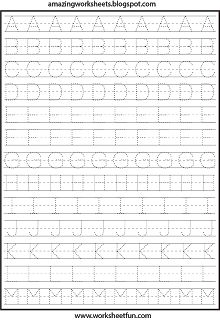 FREE PRINTABLE WORKSHEETS for Preschool, Kindergarten, 1st, 2nd, 3rd, 4th 5th Grade.  Website: www.worksheetfun.com