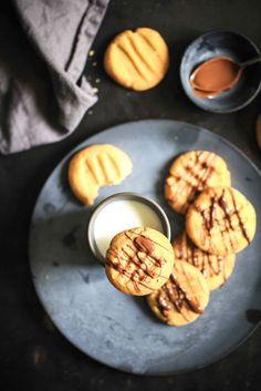 Erdnussbutter Cookies Peanutbutter Kekse Keksrezept Erdnussbutterrezept Zuckerzimtundliebe backen einfaches rezept