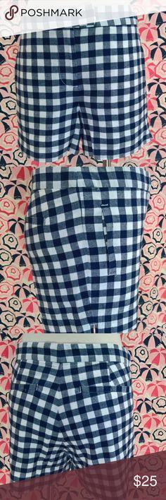 I just added this listing on Poshmark: J. Crew Check Shorts 100% Cotton Lined. #shopmycloset #poshmark #fashion #shopping #style #forsale #J. Crew #Pants