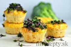 Nízkosacharidové syrové muffiny