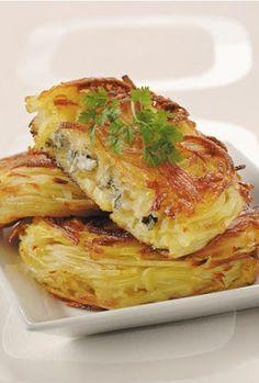 Chef Royale: Croustillant de pommes de terre au bleu