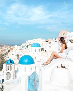 I feel like i'm in heaven 💫💙 Teen Scavenger Hunt, Australia Landscape, Chicken And Shrimp Recipes, Deck Plans, Santorini Greece, Taj Mahal, Travel Destinations, Tourism, Travel Photography
