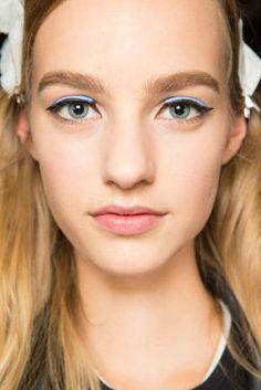 ss15 runway makeup trends