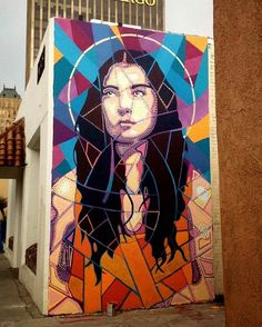 Wall mural by Albert Ortega