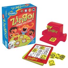 ThinkFun Zingo Bingo Award Winning Preschool Game for Pre-Readers and Early Readers Age 4 and Up - One of the Most Popular Board Games for Boys and Girls and their Parents - Toys Board Games For Boys, Preschool Board Games, Preschool Kindergarten, Preschool Learning, Learning Activities, Sight Word Games, Sight Words, Family Game Night, Family Games