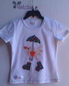 VÍSTELAS: Camiseta INFANTIL