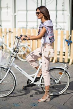 Make your bike your chicest accessory. Just take a hint from Copenhagen's fashionable pedal pushers: