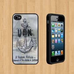 US Navy Anchor copy Custom Case/Cover FOR Apple iPhone 5 BLACK Rubber Case ( Ship From CA ) by Cases, http://www.amazon.com/dp/B00EP420YQ/ref=cm_sw_r_pi_dp_eNewsb0HS724E