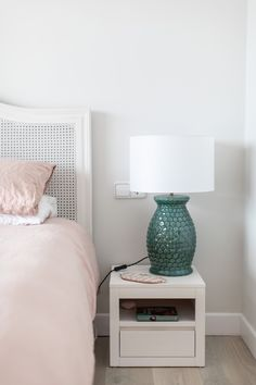 Menorca Home Tour - Interiors – Laura Butler-Madden Shower Fittings, Pink Cushions, Menorca, Floating Nightstand, Master Bedroom, Interior Design, Bedroom Designs, Bedroom Ideas, Town House