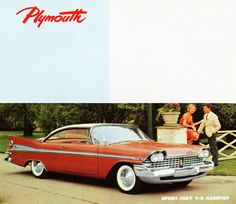 Plymouth Sport Fury V8 Hardtop 1959 - Mad Men Art: The 1891-1970 Vintage Advertisement Art Collection
