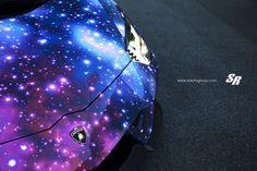 SR Auto Lamborghini Aventador Galaxy DXSC Modifiziert