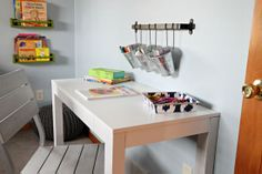 IHeart Organizing: Totally Diggin' This Toddler Bedroom!