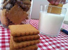 Sin gluten: Galletas de miel tipo chiquilín sin gluten My Recipes, Gluten Free Recipes, Vegetarian Recipes, Grain Free, Dairy Free, Pasta Sin Gluten, Donuts, Sem Lactose, Gluten Free Cookies