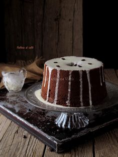 Fluffosa al caffè 7 Poke Cakes, Lava Cakes, Fudge Cake, Brownie Cake, Sweet Corner, American Cake, Custard Cake, Angel Cake, Gingerbread Cake