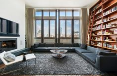 Contemporary Living Room in NYC