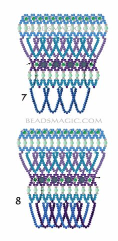 free-beading-tutorial-necklace-pattern-2-3.jpg (1278×2600)