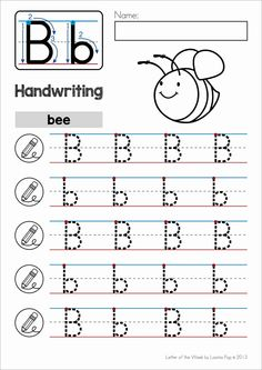 Alphabet Handwriting Practice: Upper and Lower Case Letters by Lavinia Pop Alphabet Writing Practice, Writing Practice Worksheets, Alphabet Tracing Worksheets, Alphabet Phonics, Handwriting Alphabet, Alphabet Worksheets, Handwriting Practice, Preschool Worksheets, Handwriting Worksheets