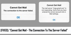 "How To #Fix ""Cannot Get #Mail - The #Connection To The #Server Failed"" Error on #iPhone/iPad/iPod Touch running on iOS 11/10/9/8/7/6 or older version. 1: Re-enter The Password. 6: Change #MicrosoftExchange #Security Settings. 9: Fix/Repair #iOS System."