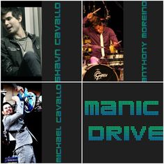 Collage I made of Manic Drive
