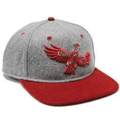 Soaring Eagle Snapback Hat by Corey Bulpitt, Haida - Designed in Canada