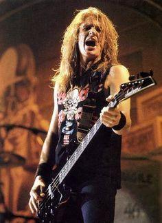 David Ellefson from Megadeth Thrash Metal, David Ellefson, Famous Musicians, Heavy Metal Bands, Best Rock, Band Photos, Great Bands, Rock Music, Hard Rock