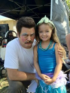 Ron Swanson is the most serious Princess.